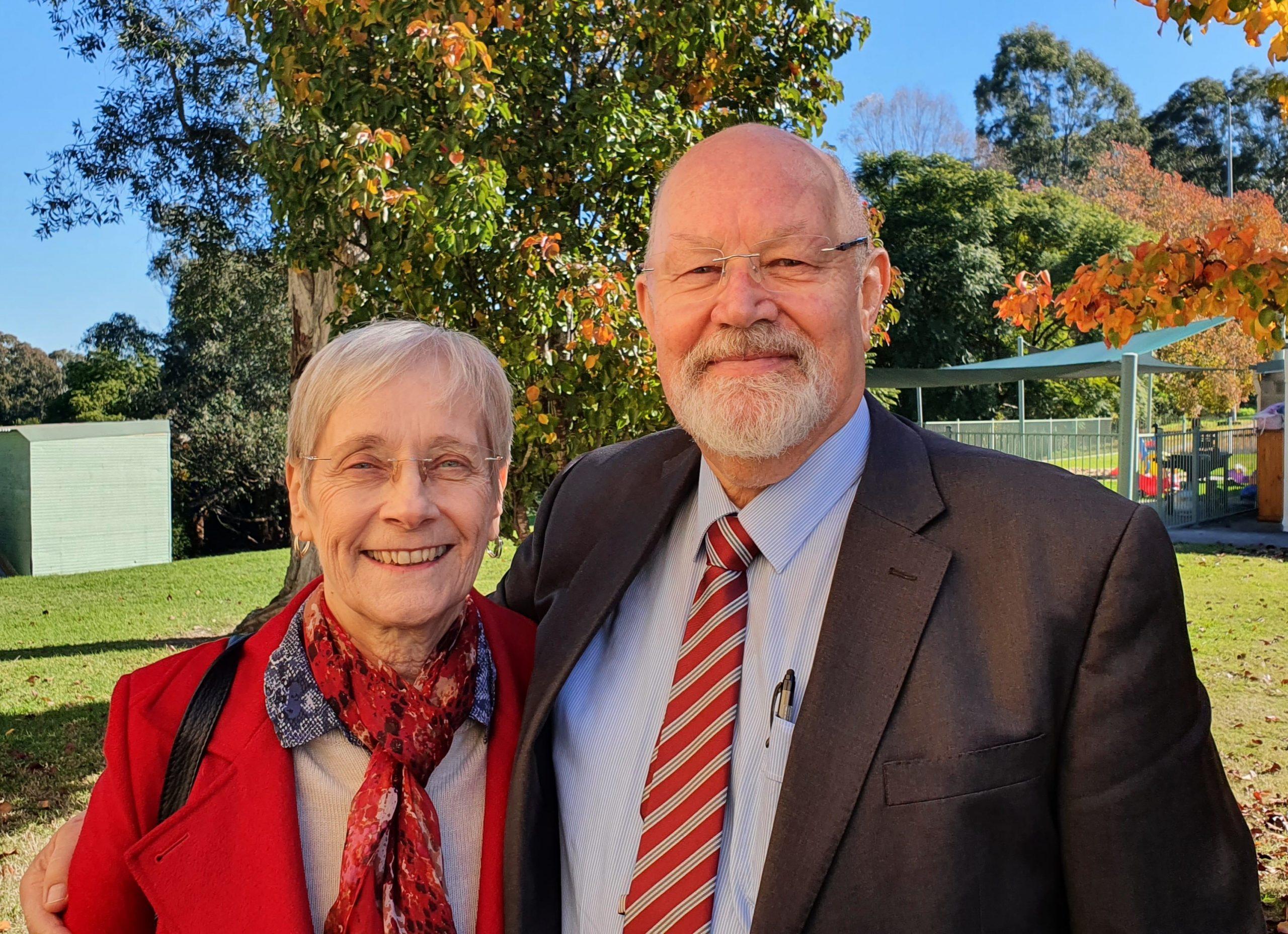 Photo of Bill Winthrop and Fran Winthrop
